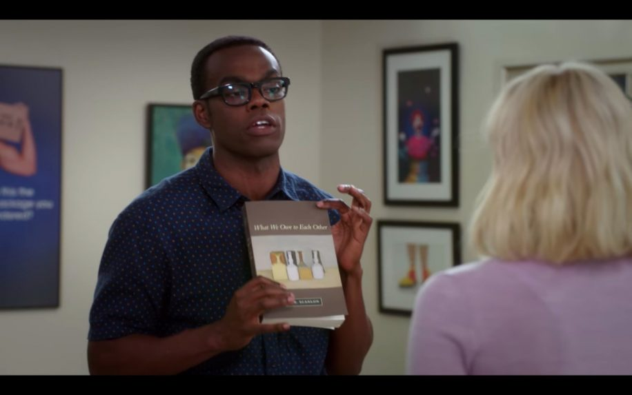 "NBC's ""The good place"""